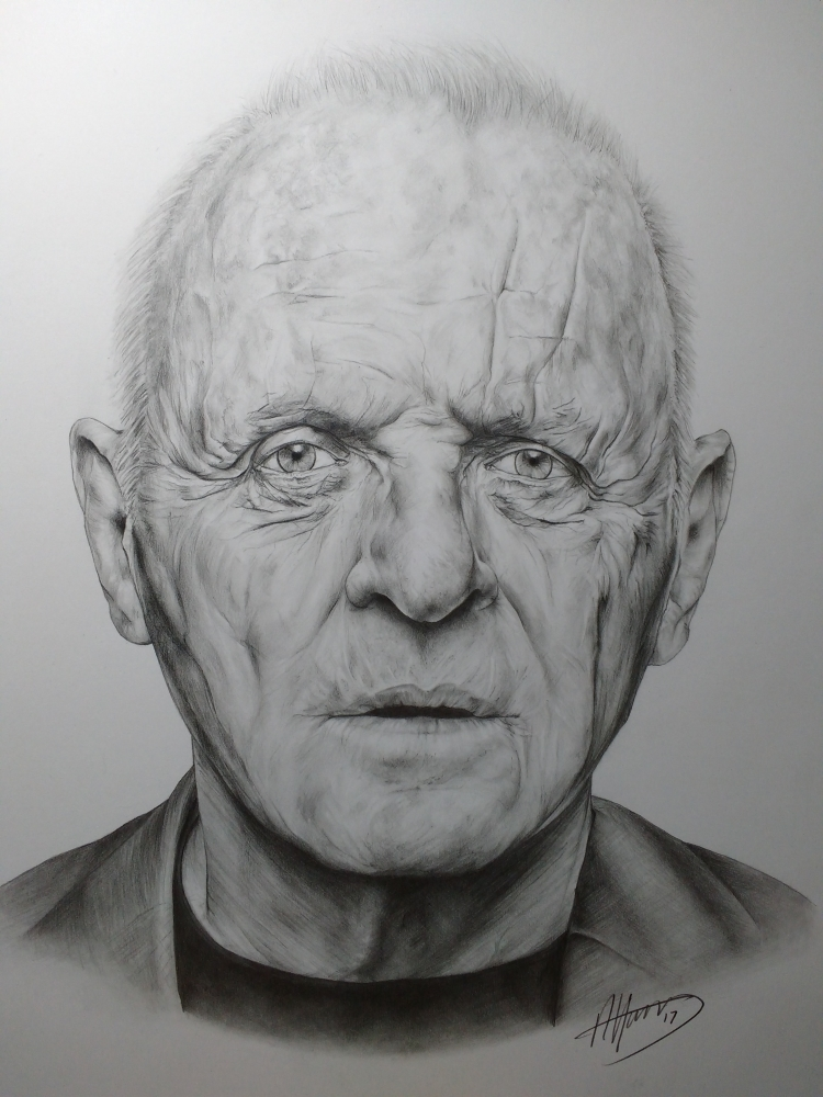 Anthony Hopkins par andyroo